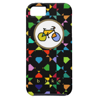 colorful bike . cycling case for the iPhone 5