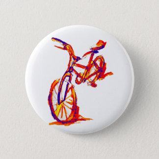 Colorful Bike Designs 2 Inch Round Button