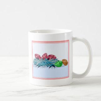 Colorful Bird Eggs Coffee Mug
