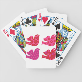 Colorful birds amazing Collection Bicycle Playing Cards