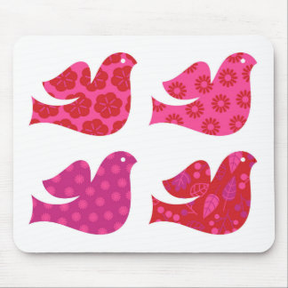 Colorful birds amazing Collection Mouse Pad
