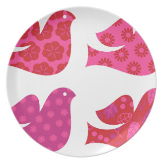 Colorful birds amazing Collection Plate