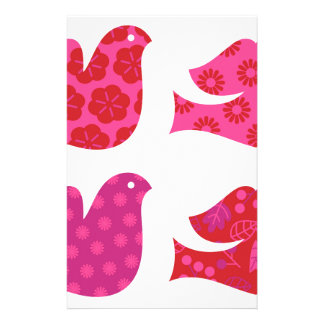Colorful birds amazing Collection Stationery