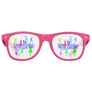 Colorful Birthday Party Shades