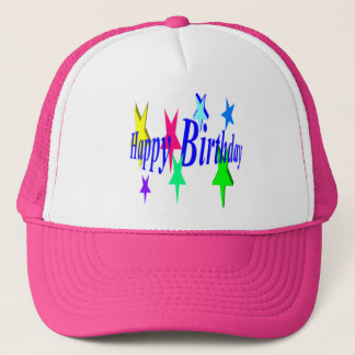 Colorful Birthday Trucker Hat
