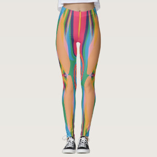 Colorful Bizarre Leggings