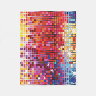 Colorful Bling-Fleece Blanket