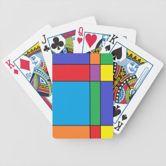 """""""Colorful Blocks"""" Playing Cards"""