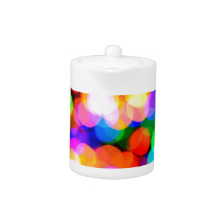 Colorful blurred lights