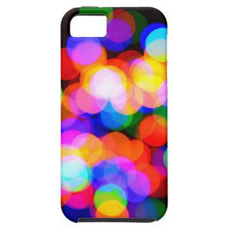 Colorful blurred lights case for the iPhone 5