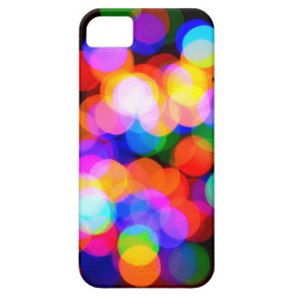 Colorful blurred lights iPhone 5 cover