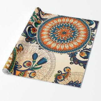 Colorful Bohemian Boho MOD Hippy Chic Pattern