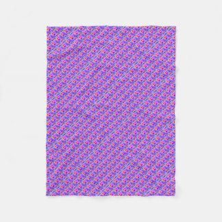 Colorful Bohemian patterns Fleece Blankets