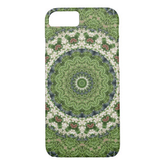 Colorful Boho Green Farmers Market Mandala iPhone 8/7 Case