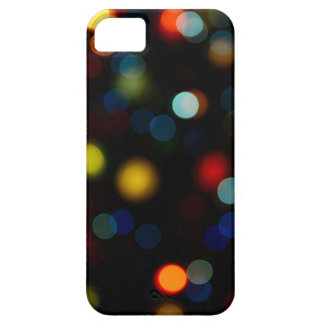 Colorful bokeh lights design iPhone 5 covers
