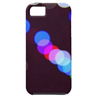 Colorful bokeh lights iPhone 5 cover