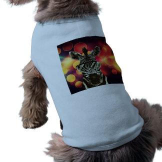 Colorful Bokeh Stylle Dog Tshirt