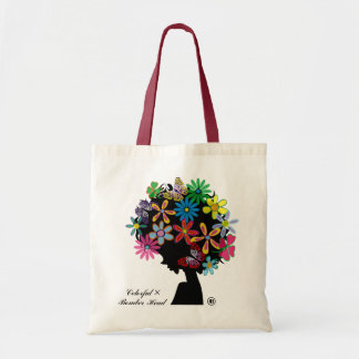 Colorful  × Bomber Head Tote Bag