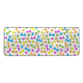 Colorful Bone Custom Wireless Keyboard