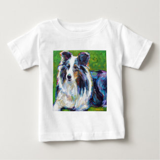 Colorful BORDER COLLIE Baby T-Shirt