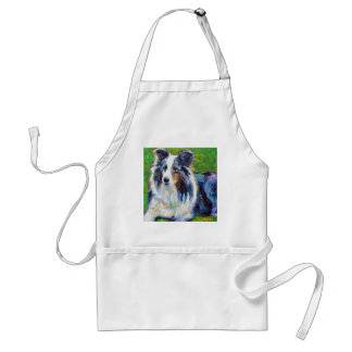 Colorful BORDER COLLIE Standard Apron