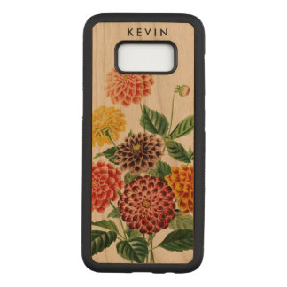 Colorful Botanical Flowers Bouquet Illustration 2 Carved Samsung Galaxy S8 Case