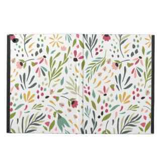 Colorful Botanical Leafs & Flowers Pattern Powis iPad Air 2 Case