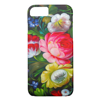 colorful bouquet iPhone 7 case