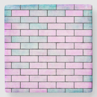 Colorful Bricks Stone Coaster