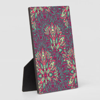 Colorful bright mandala pattern. plaque