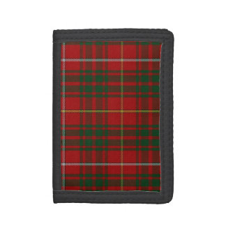 Colorful Bruce Clan Tartan Plaid Wallet