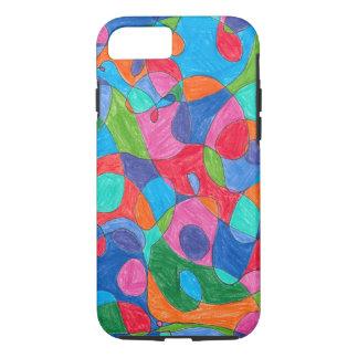 Colorful Bubble Art IPhone Case