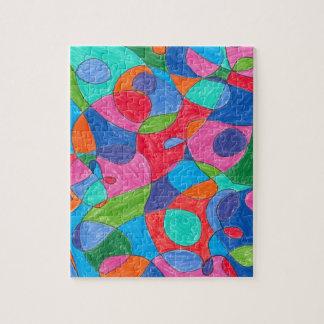 Colorful Bubble Art Puzzle