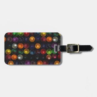 Colorful Bubble Bag Tag