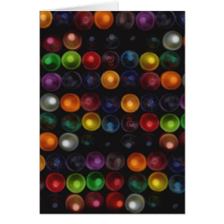 Colorful Bubble Card