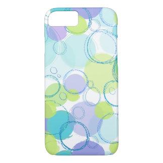 Colorful Bubble Design iPhone Case