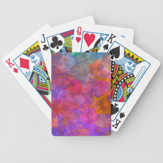 Colorful Bubble Pattern Design Bicycle Playing Cards