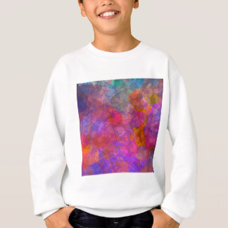 Colorful Bubble Pattern Design Sweatshirt