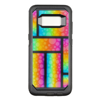Colorful Bubble Patterns OtterBox Commuter Samsung Galaxy S8 Case