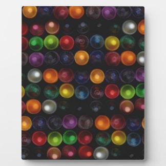 Colorful Bubble Plaque