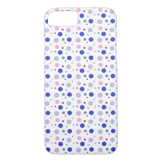 Colorful bubbles design, pastel colors in circles! iPhone 8/7 case