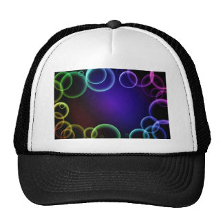 Colorful bubbles hat