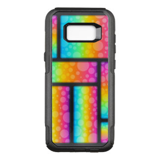 Colorful Bubbles Pattern OtterBox Commuter Samsung Galaxy S8+ Case