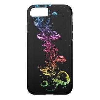 Colorful Bubbles Tough iPhone 7 Case