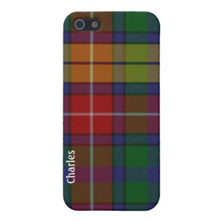 Colorful Buchanan Tartan Plaid iPhone 5 Case