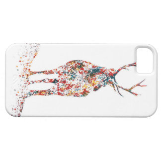 Colorful buck phone case