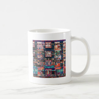 Colorful Buildings Collage Coffee Mug