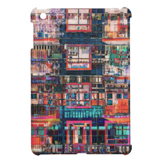 Colorful Buildings Collage iPad Mini Cases