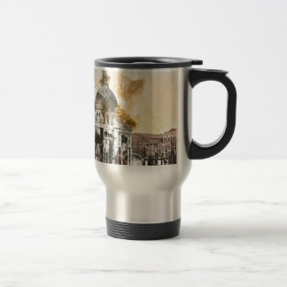 Colorful Buildings in Venice Italy Travel Mug