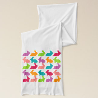 Colorful Bunnies - Scarf